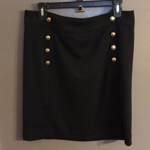 Gap Black Pencil Skirt Medium NWT